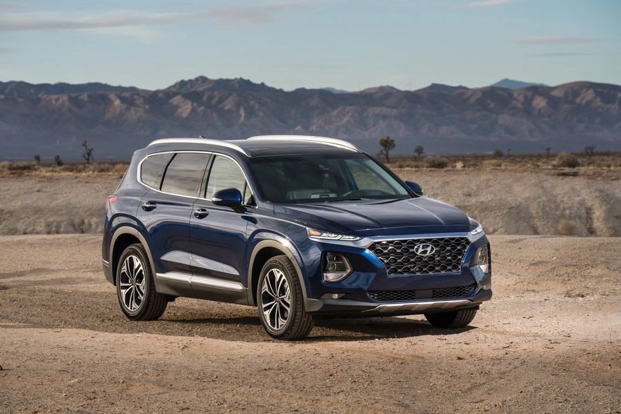 Hình Ảnh Hyundai Santa Fe 2019 giá chỉ 580 triệu VNĐ 1