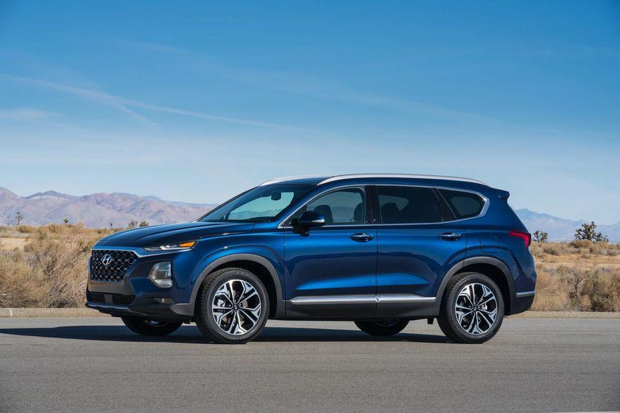 Hình Ảnh Hyundai Santa Fe 2019 giá chỉ 580 triệu VNĐ 5