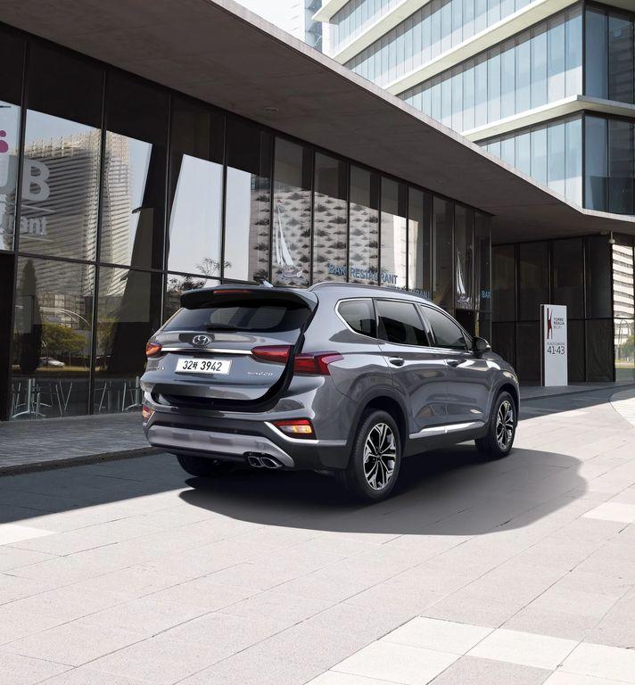 Hình Ảnh Hyundai Santa Fe 2019 giá chỉ 580 triệu VNĐ 2