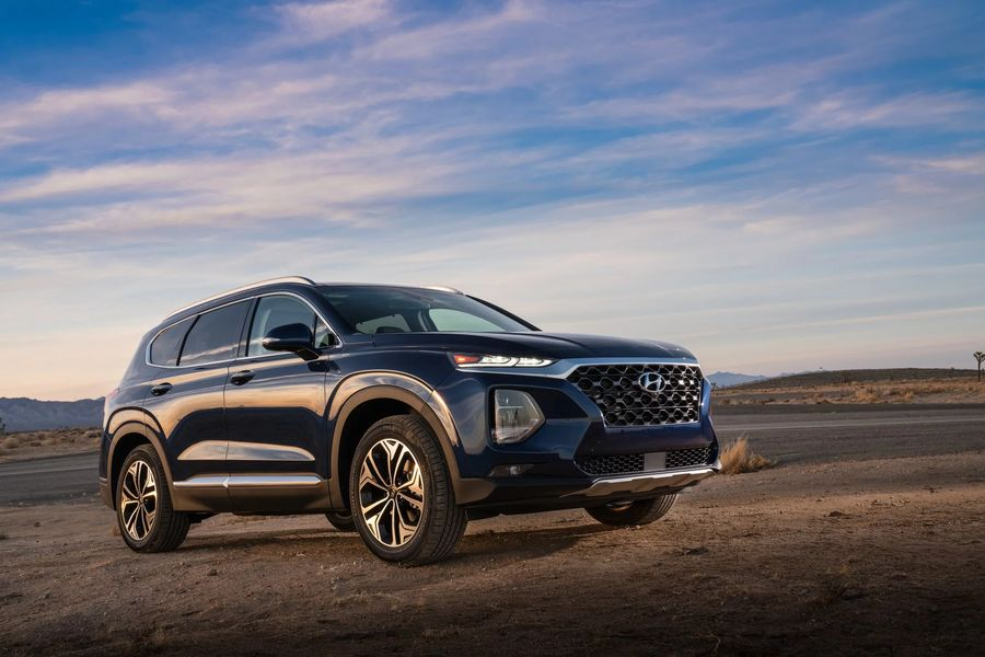 Hình Ảnh Hyundai Santa Fe 2019 giá chỉ 580 triệu VNĐ 27