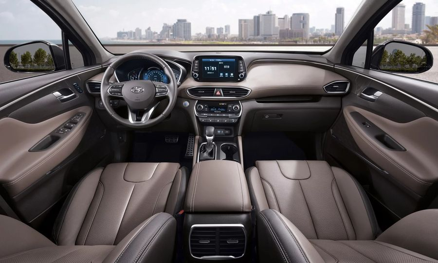 Hình Ảnh Hyundai Santa Fe 2019 giá chỉ 580 triệu VNĐ 23