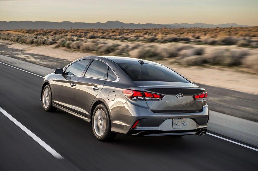 """Hình Ảnh Hyundai bổ sung phiên bản """"+"""" cho Sonata 2018 9"""