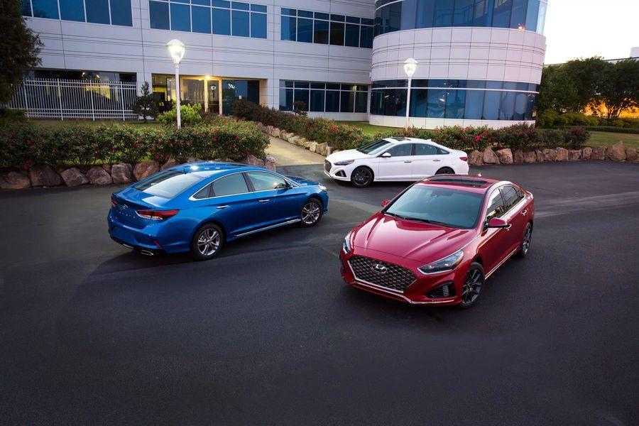 """Hình Ảnh Hyundai bổ sung phiên bản """"+"""" cho Sonata 2018 7"""